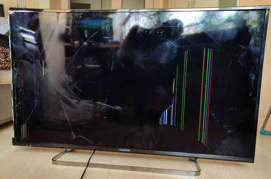 Замена матрицы в LED телевизоре